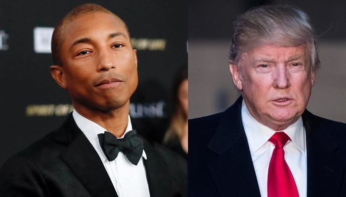 Pharell Williams et Donald Trump