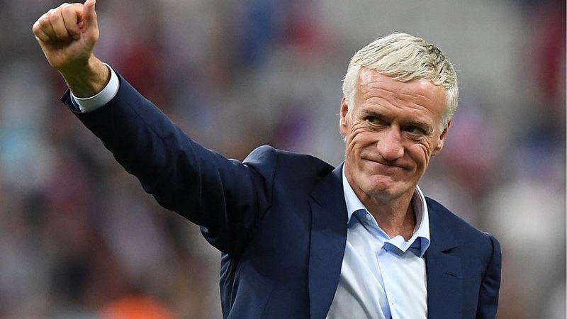 Didier Deschamps l'entraineur de l'équipe de France prolonge son contrat jusqu'en 2022 !