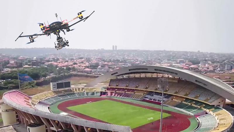 """""""Plus de drones dans le ciel Guinéen sans autorisation"""" Ministère de la défense !"""